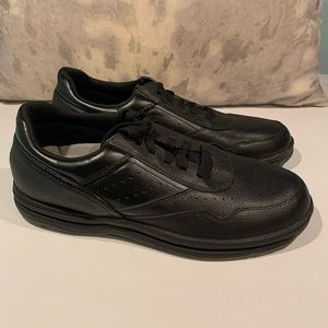 MENS COMFORTABLE ROCKPORT BLACK SNEAKERS SIZE 10.5